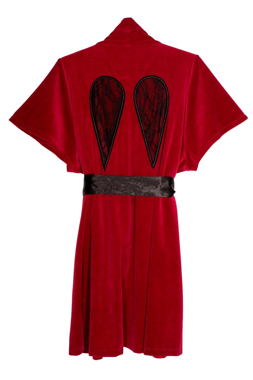 Punane tiibadega kimano 159€