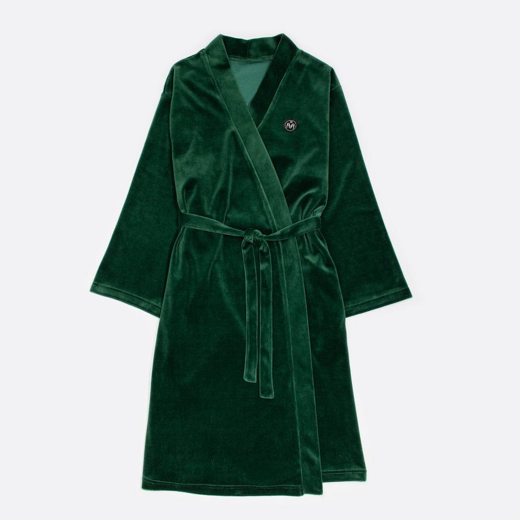 Naiste roheline hommikumantel  65€